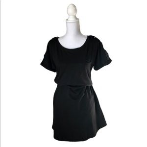 Seraphine New Black Maternity and Nursing Dress